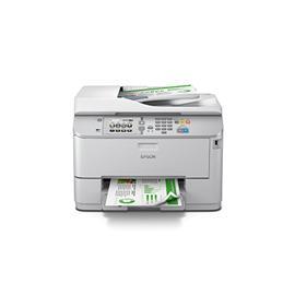 Epson WF-5623 高端彩色商用墨仓式一体机 数码标签机 打印一体机