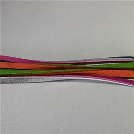Two-colors shoelace,Synthetic shoelace | leather lace,PU lace,synthetic leather lace