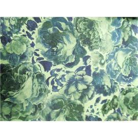 牡丹花磨砂皮 印刷皮1-006同睿皮革