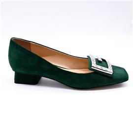圆头中矮跟鞋 矮跟鞋 娇一点鞋业