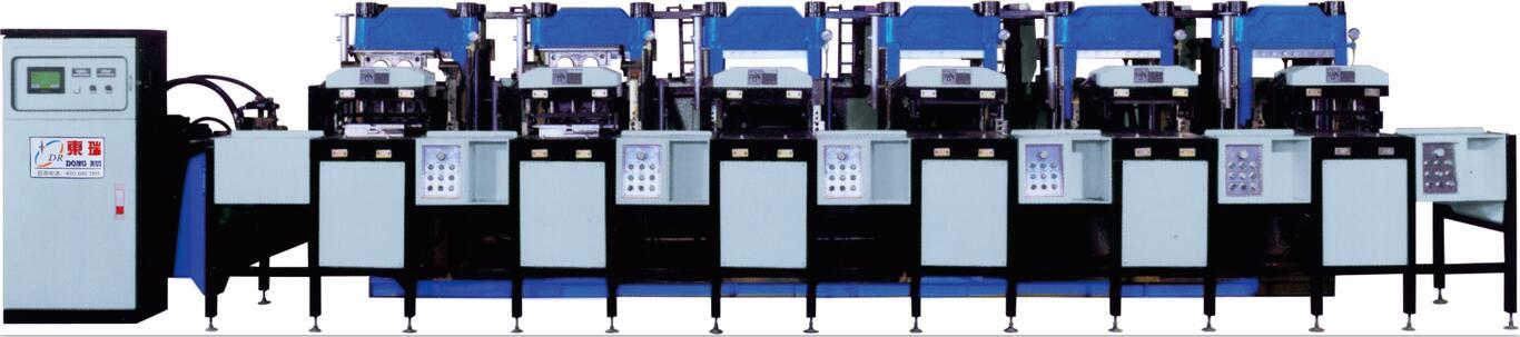 全自动橡胶热压成型机DR-8206Y