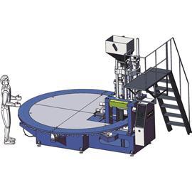 全自动圆盘式塑胶鞋类射出成型机DR-81-320
