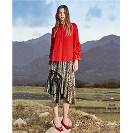 新款上市时尚百搭高跟 女式凉鞋