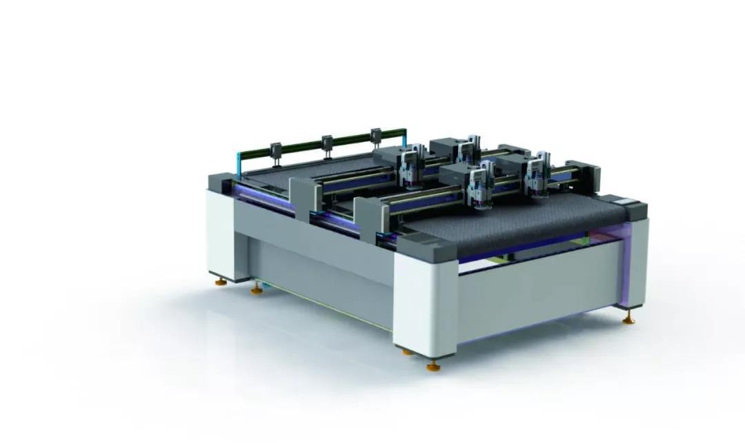 效率高,智能化,全自动丨多层PU智能切割机器人