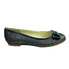 平底鞋经典款,双层面烫金羊反绒,内里猪皮,鞋垫:羊皮