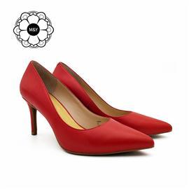 羊皮细高跟鞋单鞋女004