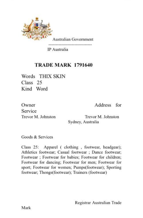 商标证书(国外)