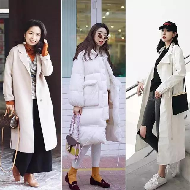 Your winter clothes collocation, also added a white single product fashionable!