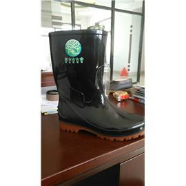 双色低筒橡塑雨鞋