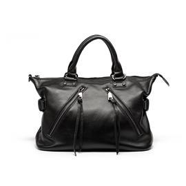 女士公文包(黑色)|包包|俊锜皮包