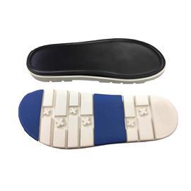 MEJ81818橡胶+PU双层沙滩凉鞋底