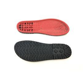 美爾杰81807橡膠+高彈|沙灘雙層涼鞋厚底