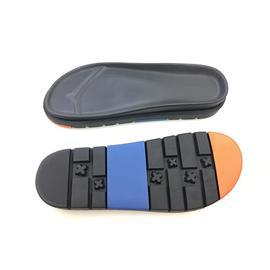 美尔杰81818橡胶 PU双层凉鞋底 轻便防滑