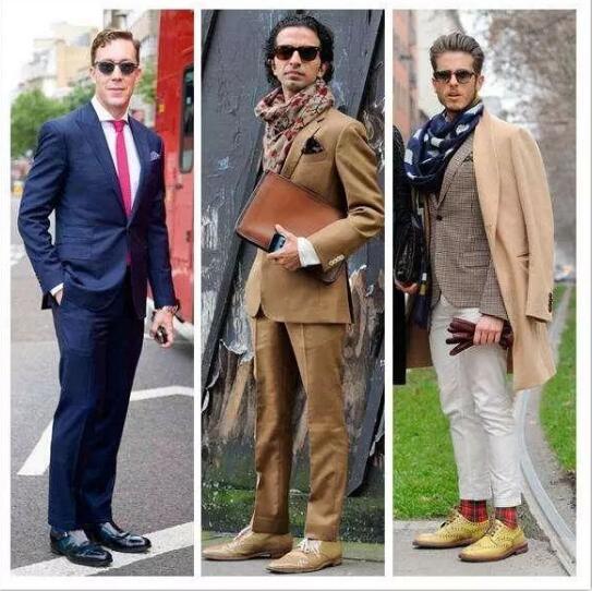皮鞋如何搭配?才能穿出男神风范