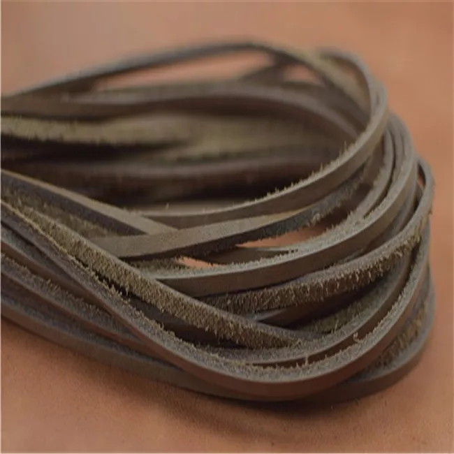 超硬真皮鞋带:材料坚韧,皮质自然,规格多样