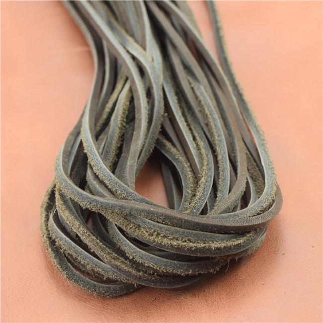 经济真皮鞋带(深棕),真皮方鞋带•●、真皮条