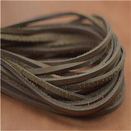 超软真皮鞋带(棕),真皮条,真皮方鞋带