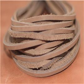 经济真皮鞋带(淡棕),真皮方鞋带,真皮条