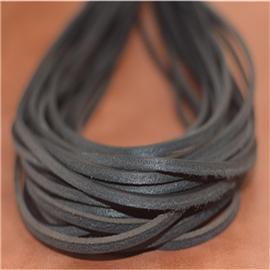超硬真皮鞋带(黑),真皮方鞋带、真皮条