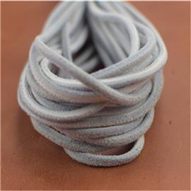 经典真皮鞋带(白),真皮圆鞋带、真皮绳