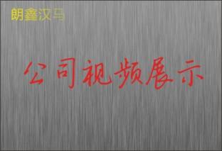 朗鑫汉马公司展示