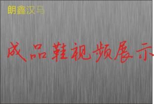 朗鑫汉马成品鞋展示