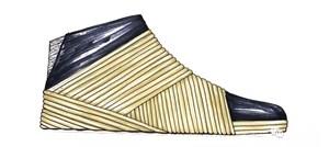 【鞋子最新设计】优秀设计手稿 | 护+