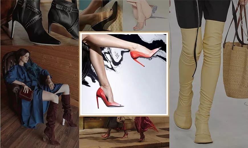 2020/21秋冬高跟女鞋趋势流行