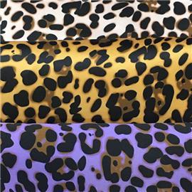 坤达鞋材鞋包服饰用豹纹C153#丨特殊鞋用面料丨羊猄绒布