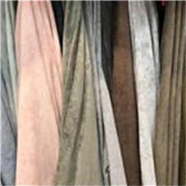 坤达仿羊绒弹力靴用涤纶羊猄绒布丨针织梭织布丨后段工艺布