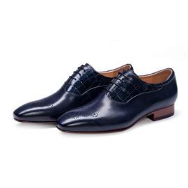 KENKENNY绅士系列进口牛皮面料固特异男鞋K8067-2