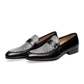 KENKENNY绅士系列进口牛皮面料固特异男鞋K8022-3
