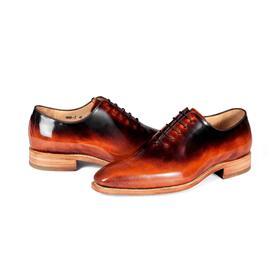 KENKENNY绅士系列进口牛皮面料固特异男鞋K8081-2