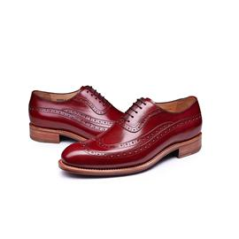 KENKENNY绅士系列进口牛皮面料固特异男鞋K8068-2