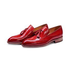 KENKENNY绅士系列进口牛皮面料固特异男鞋K8027-5