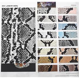 动物皮系列|蟒蛇纹PU-OK9205|欧凯皮革