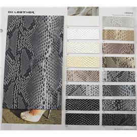 动物皮系列|蟒蛇纹PU-OK9202|欧凯皮革