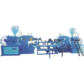 HG-216全自动圆盘式塑胶类射出类成型机(双色16站)