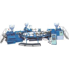 HG-322 TPR、PVC全自動圓盤式塑膠類射出成型機(三色24站)