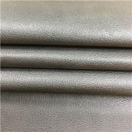 仿头层摔花小荔枝纹压纹灌顶超纤皮革|环保透气|超纤皮革|贴面超纤