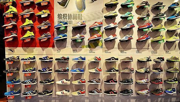 中国最赚钱的体育品牌:一年卖出6000万双鞋子 光店铺就有上万家