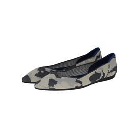 【xerkng】黑白拼色鞋女一脚蹬休闲风女平底鞋鞋飞织单鞋