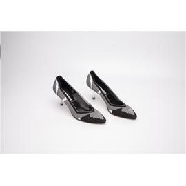 XerkngRothys高跟斑马纹潮流女鞋休闲舒适鞋女