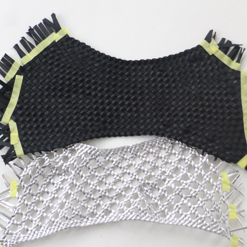 手工编织鞋面系列 手工编织鞋面、特殊编织、PU编织