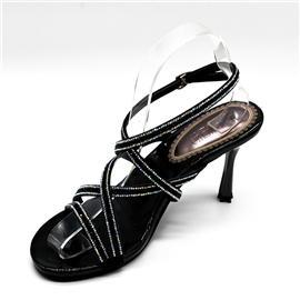 昕蕾女鞋佛拉维亚时尚仿猪皮内里超纤烫钻凉鞋