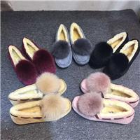 顶级猪八革豆豆鞋图片