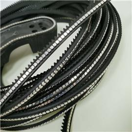 PVC沿條+銅質方連
