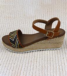 编织凉鞋1