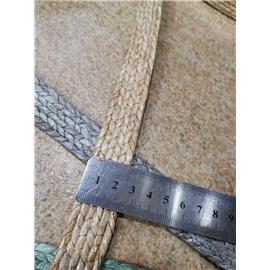 惠得编织鞋包用2.5cmpp草机机边条形编织