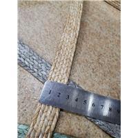 惠得编织鞋包用2.5cmpp草机机边条形编织图片